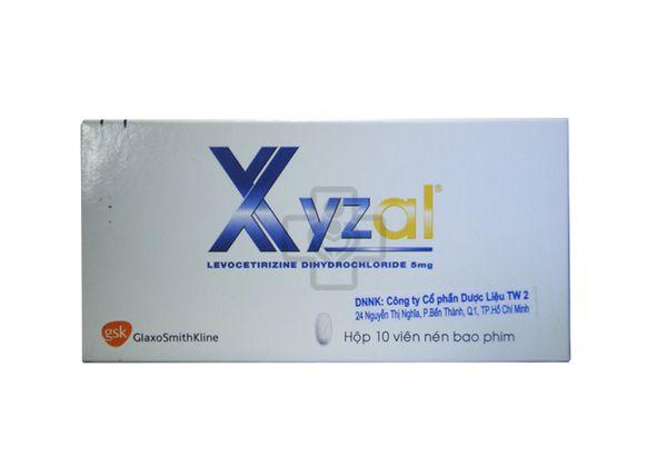 thuốc xyzal 5mg