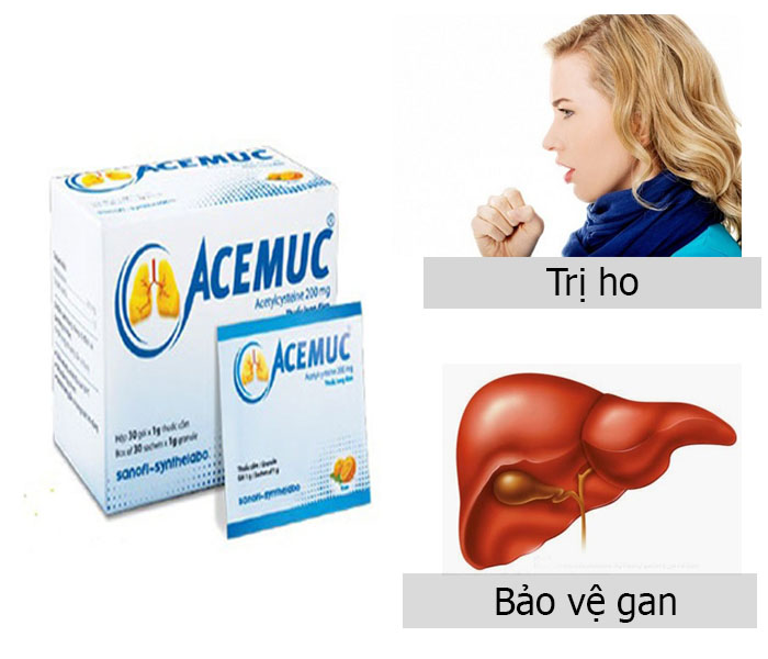 Thuốc Acemuc 200mg có tác dụng gì