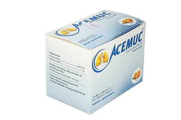 Thuốc Acemuc sử dụng như thế nào