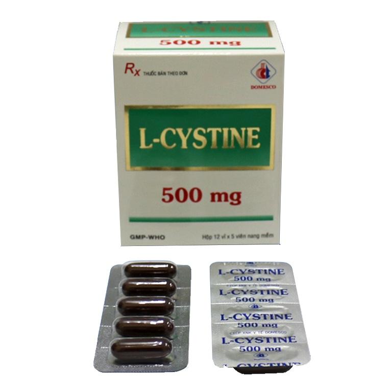 Uống thuốc l-cystine cần chú ý những gì